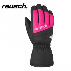 Gants de ski REUSCH Bennet R-tex Noir / Rose Junior