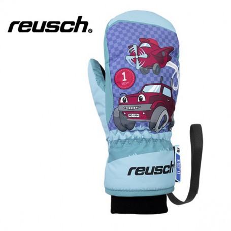 Moufles de ski REUSCH Franky R-tex Bleu BB Garçon