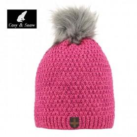 Bonnet de ski COSY & SNOW Nina Framboise Femme