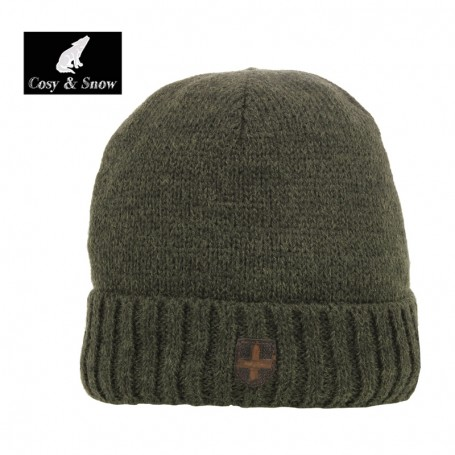 Bonnet de ski COSY & SNOW Picho Kaki Unisexe