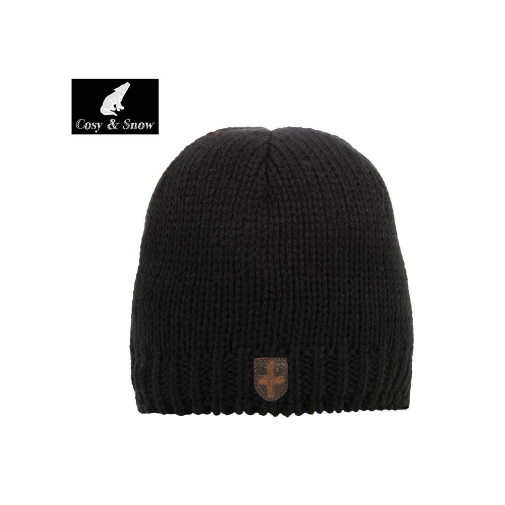 Bonnet de ski COSY & SNOW Raymond Noir Unisexe