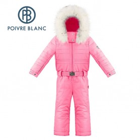 Combinaison de ski POIVRE BLANC W18-1030 BBGL Rose fluo BB Fille