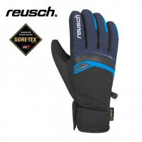 Gants de ski REUSCH Bruce Gtx Noir / Bleu Junior