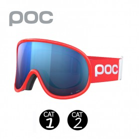 Masque de ski POC Retina Clarity Comp Rouge Unisexe Cat.1/2