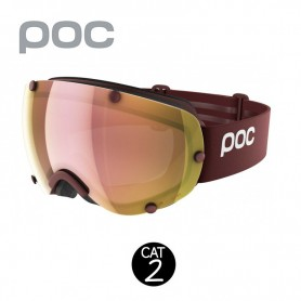 Masque de ski POC Lobes Clarity Prune Unisexe Cat.2