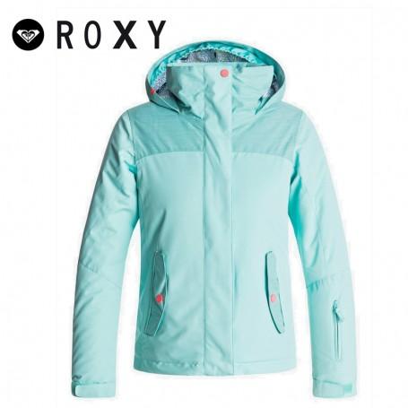 Veste de snowboard ROXY Jetty Vert d'eau Fille