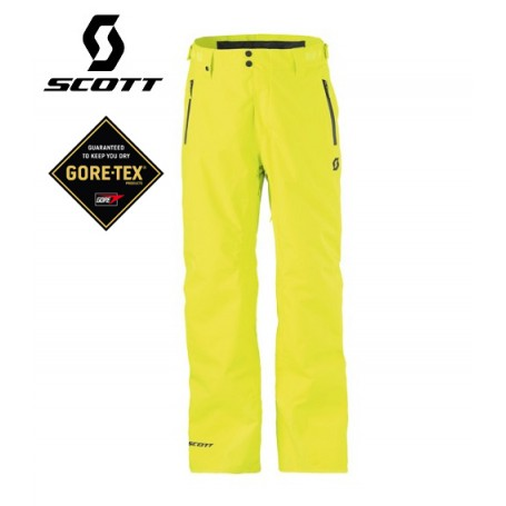 Pantalon de ski Gore-tex SCOTT Colbert Jaune Homme
