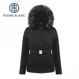 Veste de ski POIVRE BLANC W18-0801 WO/A Noir Femme