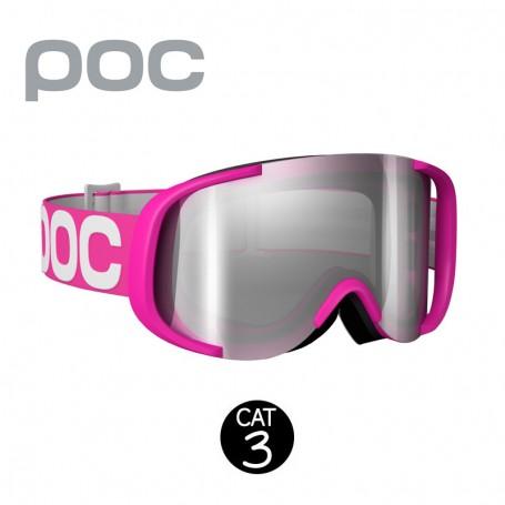 Masque de ski POC Cornea Rose Fluo Unisexe Cat.3