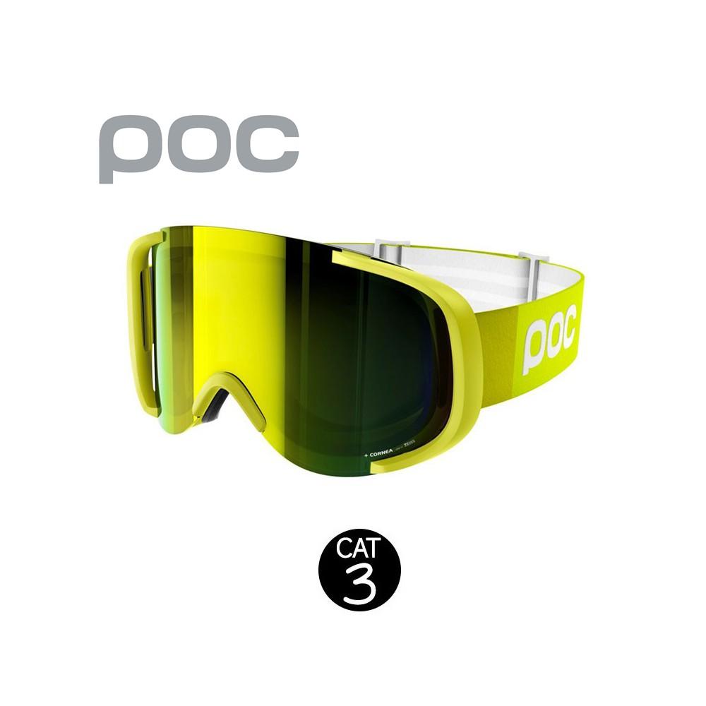 Masque de ski POC Cornea Jaune Unisexe Cat.3