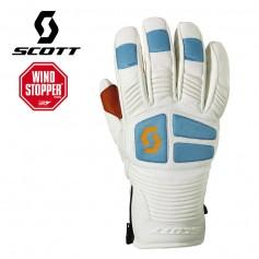 Gant de ski Windstopper SCOTT MTN Free 10 Blanc / Bleu Unisexe
