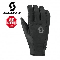 Gants Windstopper SCOTT Explorair Softshell Noir Unisexe