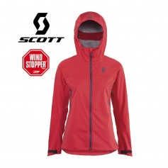 Veste Windstopper SCOTT Explorair Softshell Corail Femmes
