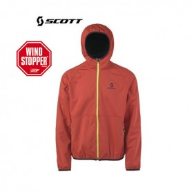 Veste Softshell Windstopper SCOTT ADVERSE Rouge Homme