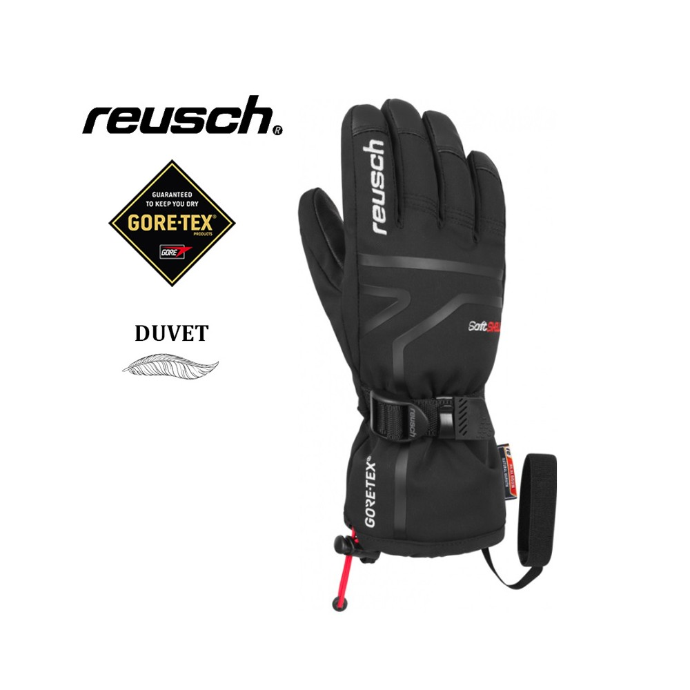 Gants de ski REUSCH Down Spirit Gtx Noir Junior