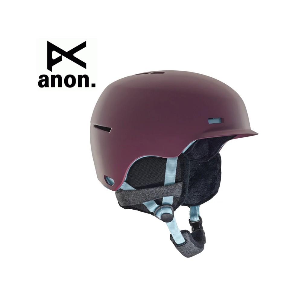 Casque de ski ANON Raven Violet Femme