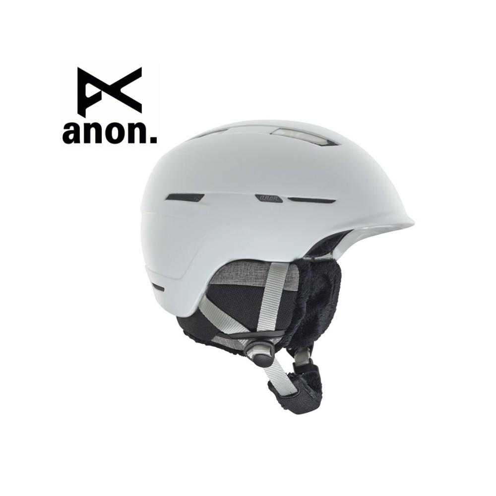 Casque de ski ANON Auburn Blanc Femme