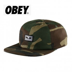 Casquette OBEY Resist 6 panel Camouflage Unisexe