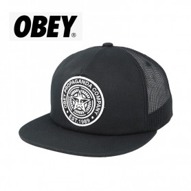 Casquette OBEY Established 89 Trucker Noir Unisexe