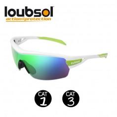 Lunettes sport LOUBSOL Race Blanc Unisexe - Cat 1/3