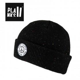 Bonnet de ski PLANKS Peace Noir Unisexe
