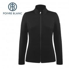 Veste polaire POIVRE BLANC W19-1500 WO Noir Femme