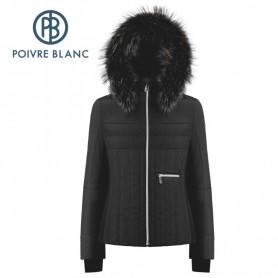 Veste de ski POIVRE BLANC W19-1002 WO/B Noir Femme