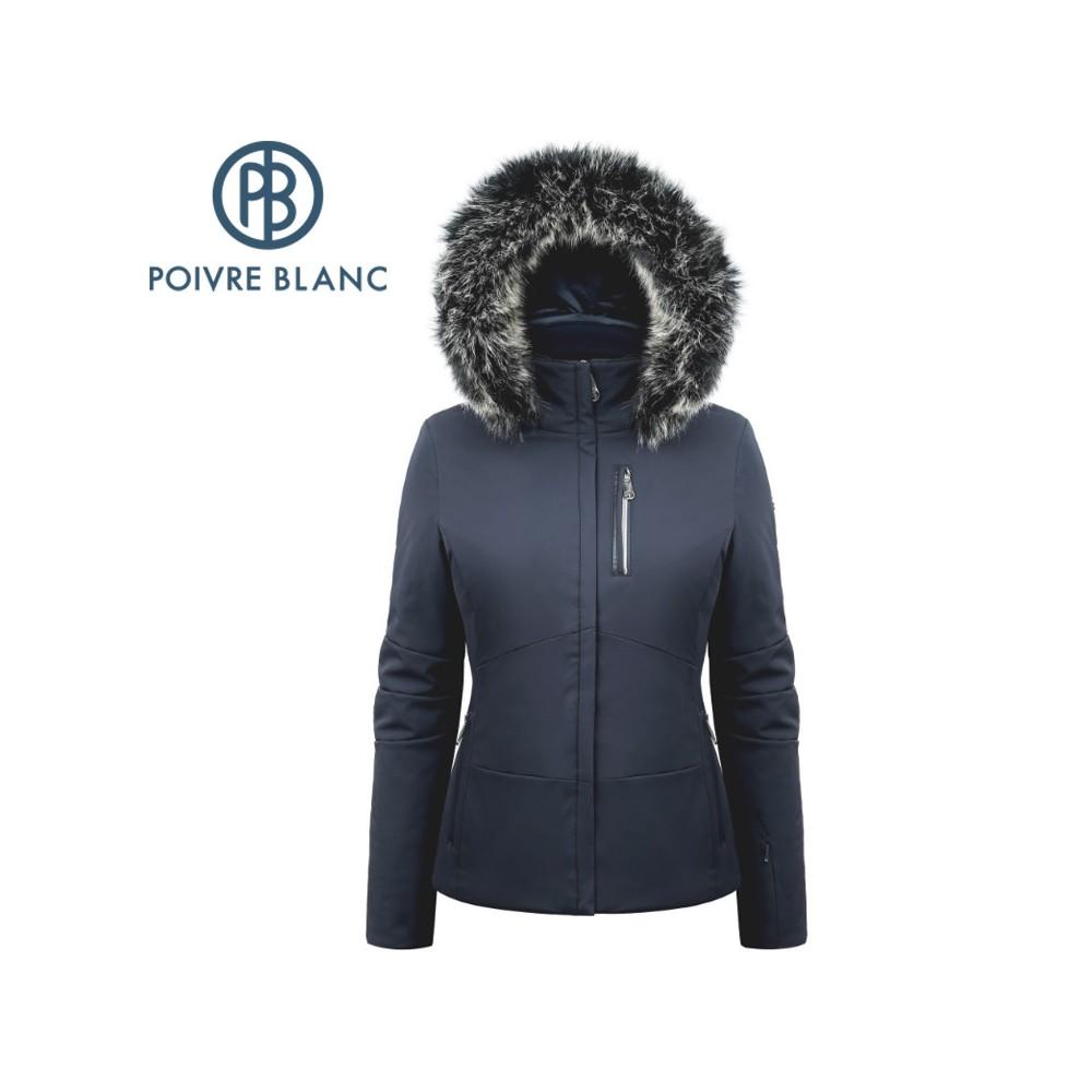 Blouson de ski POIVRE BLANC W19-0802 WO/A Bleu Femme