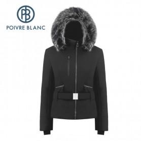 Blouson de ski POIVRE BLANC W19-0806 WO/A Noir Femme
