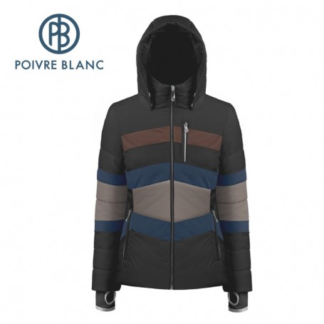 Blouson de ski POIVRE BLANC W19-1006 WO Noir Femme