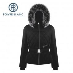 Veste de ski POIVRE BLANC W19-1003 WO/A Noir Femme