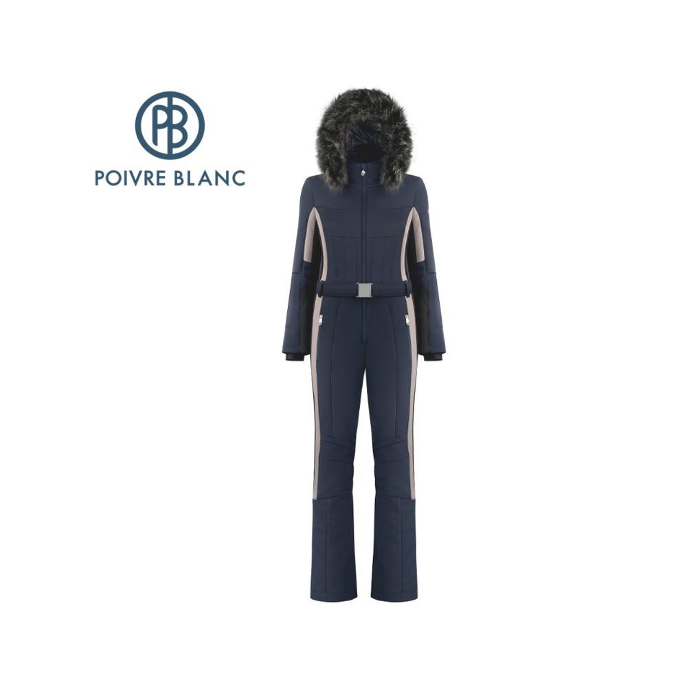 Combinaison de ski POIVRE BLANC W19-0830 WO/A  Bleu marine Femme