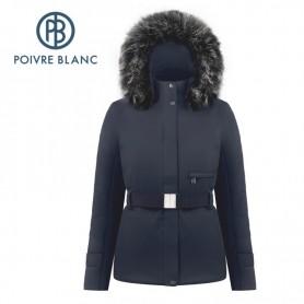 Veste de ski POIVRE BLANC W19-0801 WO/A Bleu marine Femme