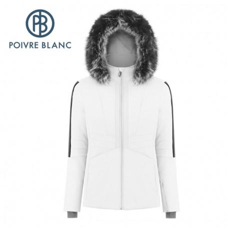 Blouson de ski POIVRE BLANC W19-0803 WO/A Blanc Femme