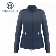 Veste polaire POIVRE BLANC W19-1601 WO Bleu marine Femme