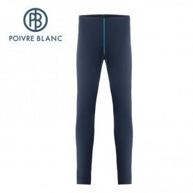 Pantalon merinos POIVRE BLANC W19-1820 WO Bleu Femme