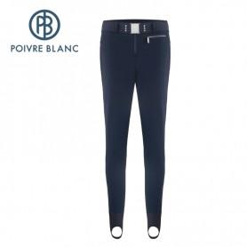 Fuseau de ski POIVRE BLANC W19-1123 WO Bleu Femme
