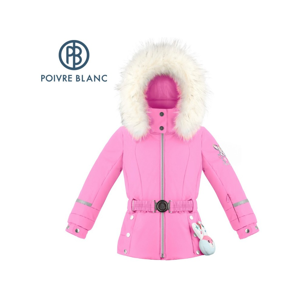 Veste de ski POIVRE BLANC W19-1008 BBGL/A Rose BB Fille