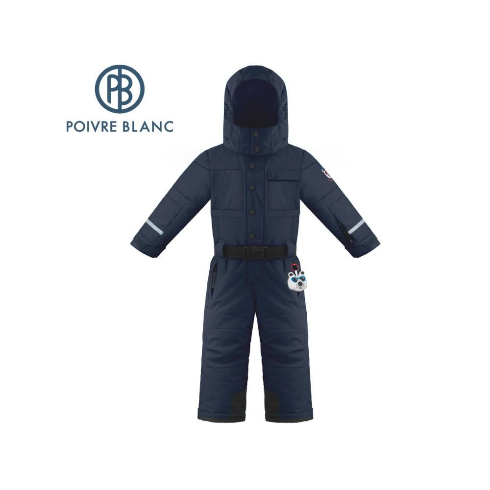 Combinaison de ski POIVRE BLANC W19-0930 BBBY Bleu marine BB Garçon