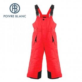 Salopette de ski POIVRE BLANC W19-0924 BBBY Rouge BB Garçon