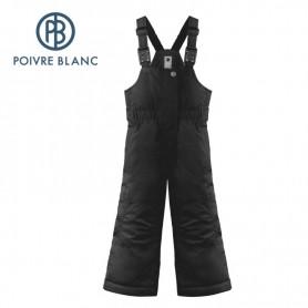 Salopette de ski POIVRE BLANC W19-1024 BBGL Noir BB FIlle