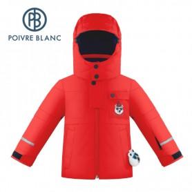 Veste de ski POIVRE BLANC W19-0900 BBBY Rouge BB Garçon