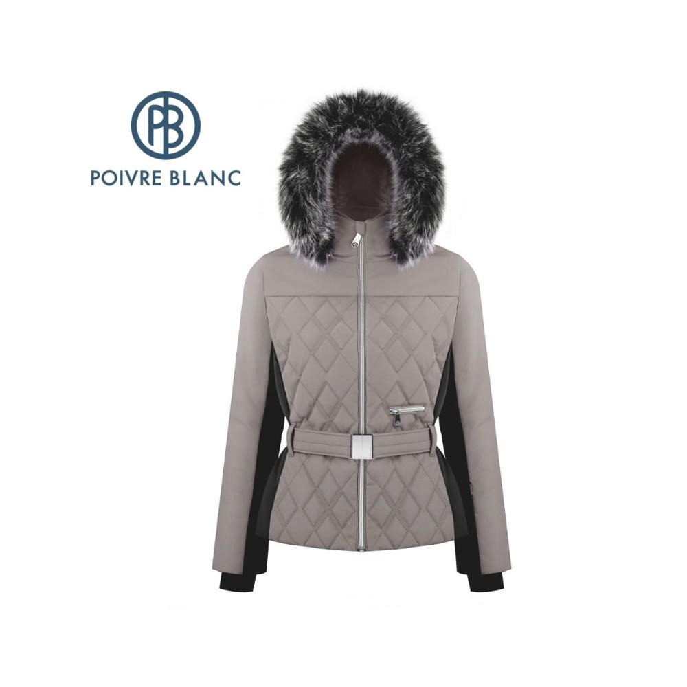 Veste de ski POIVRE BLANC W19-1003 WO/A Beige Femme