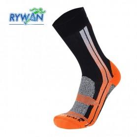 Chaussettes de ski RYWAN Atmo Walk Noir / Orange Unisexe