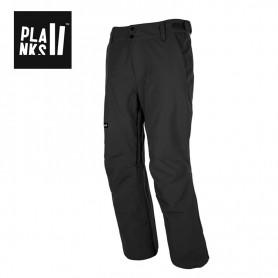 Pantalon de ski PLANKS Feel Good Insulated Noir Homme