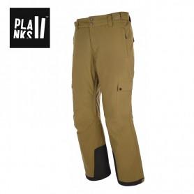Pantalon de ski PLANKS Good Times Insulated Kaki Homme