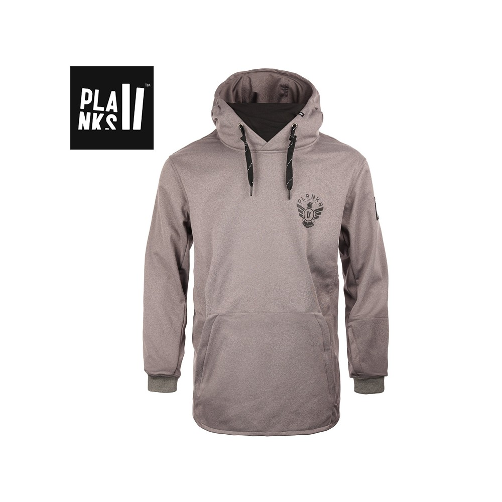 Sweat Softshell PLANKS Parkside Riding Hood Gris Homme