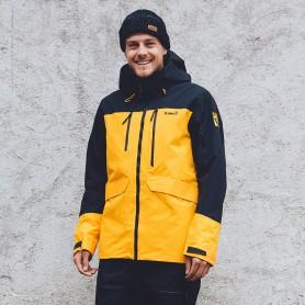 Veste de ski PLANKS Tracker Insulated Jaune Homme