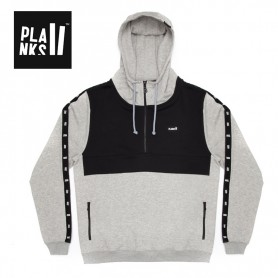 Sweat PLANKS Brother Hood HZ Gris / Noir Homme