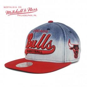 Casquette MITCHELL & NESS Chicago Bulls Jean Unisexe